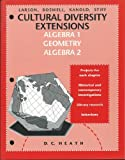 Cultural Diversity Extensions, Boswell, Kanold, Stiff Larson, 0669320668