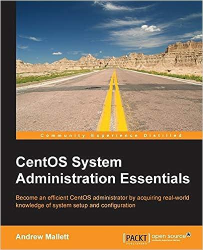CentOS System Administration Essentials