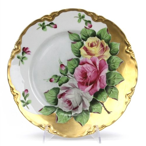 Decorators Plate by Hutschenreuther, China, Roses