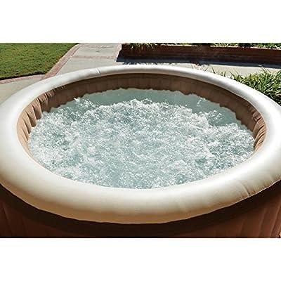 Intex 77in PureSpa Portable Bubble Massage Spa Set : Garden & Outdoor