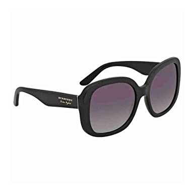 8a091208da5d Amazon.com: Burberry Women's 0BE4259 Black/Grey Gradient One Size ...