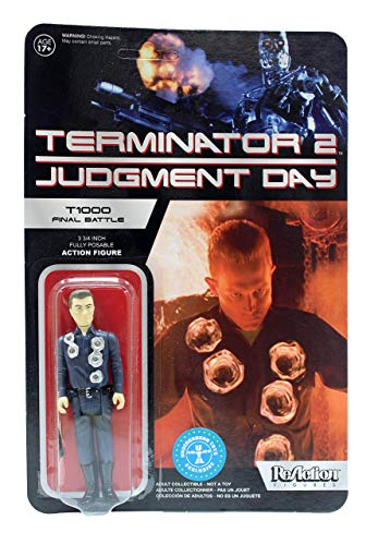 Funko The Terminator Terminator 2 Judgment Day ReAction T-1000 Final Battle Exclusive 3 3/4