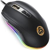 LUDOS FLAMMA Ergonomic Optical Gaming Mouse