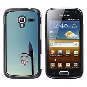 EJOY---Cubierta de la caja de protección la piel dura para el / Samsung Galaxy Ace 2 / --Cancha de Baloncesto aro