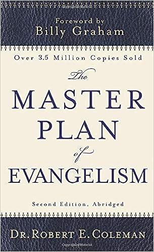 The Master Plan of Evangelism - Robert Coleman