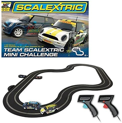 Scalextric 1:32 Scale Mini Challenge Race Set by Scalextric