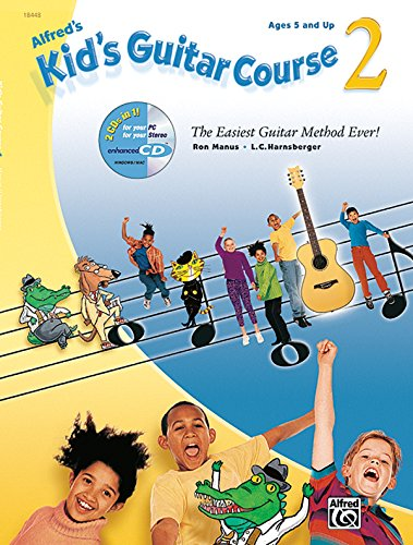 Kid's Guitar Course, Book 2 (Book & Enhanced CD)