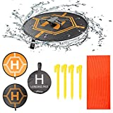 Drone Repair Parts - RCstyle Drones Landing Pad Universal Waterproof Large 80cm/31.5'' Protective Fast-fold Apron Compatible with DJI Mavic Pro/Mavic Air/Mavic 2 / Spark Drone Accessories