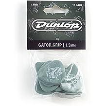 Dunlop 417P1.5 Gator Grip, Green, 1.5mm, 12/Player's Pack