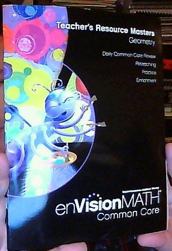 Teacher's Resource Master: Geometry Grade 1 (EnVision Math Common Core)