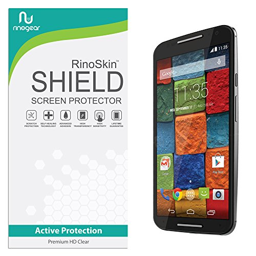 moto x 2014 screen protector wet - 4
