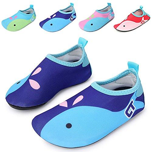 WXDZ Kids Water Shoes Swim Shoes Mutifunctional Quick Drying