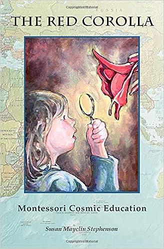Amazon Fr The Red Corolla Montessori Cosmic Education