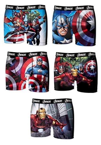 The Avengers Herren Boxershort Mehrfarbig Motif Avengers