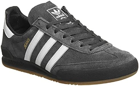 official store on feet at 2018 shoes adidas Shoes – Jeans Charcoal/White/Black Size: 44 2/3 ...