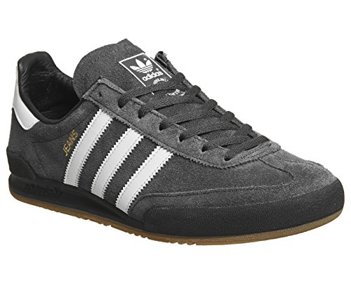 adidas Chaussures Jeans Charbon/Blanc/Noir Taille: 42