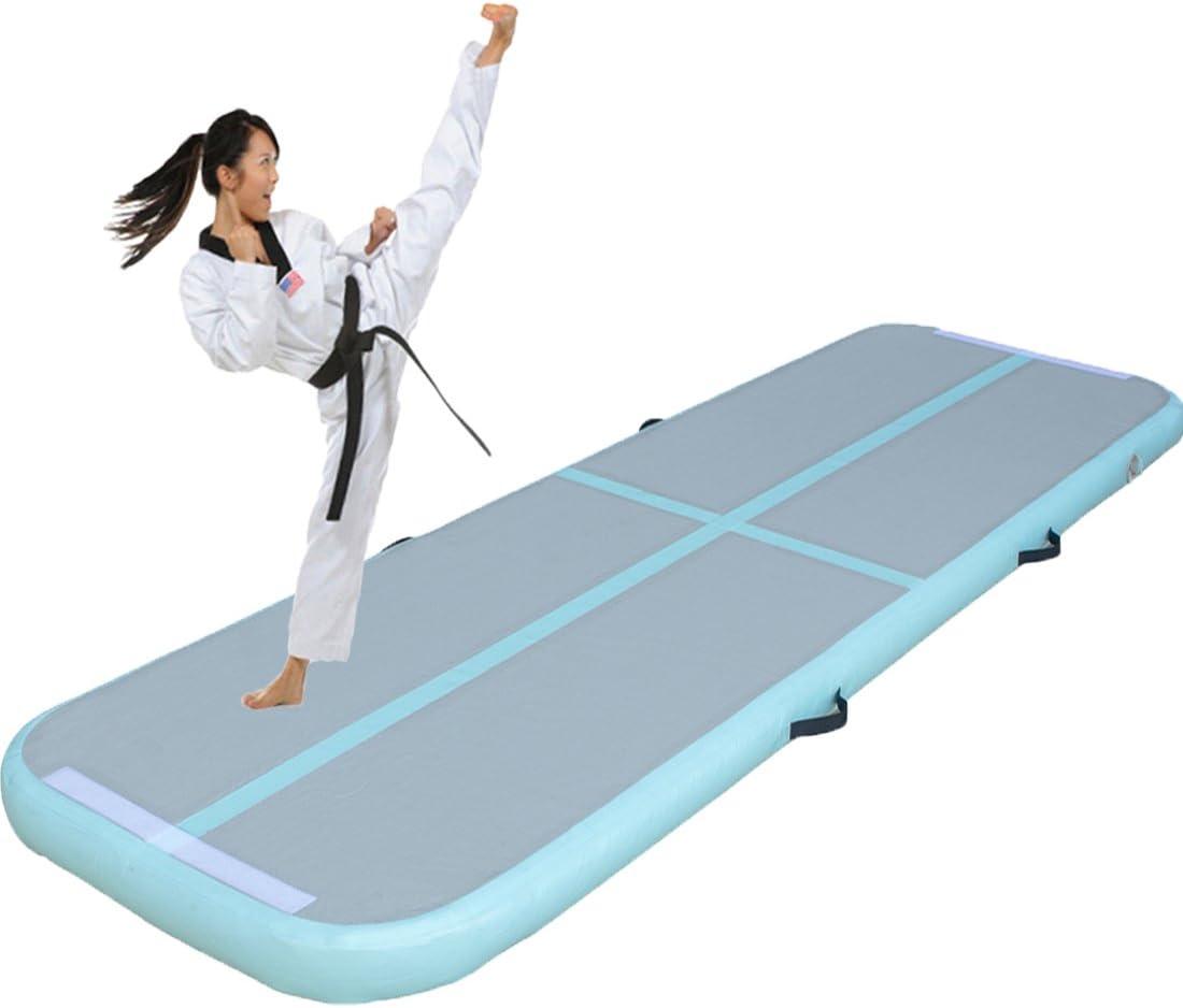 youloveitインフレータブル体操タンブルマットエア床ホームの使用、ビーチ、公園と水