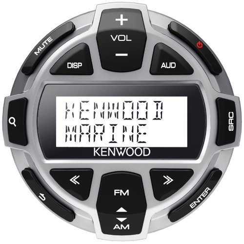 Kenwood New KCA-RC55MR Wired Marine Boat Remote to KMR-700U KMR-550U KMR-700U (Best Marine Stereo With Wired Remote)