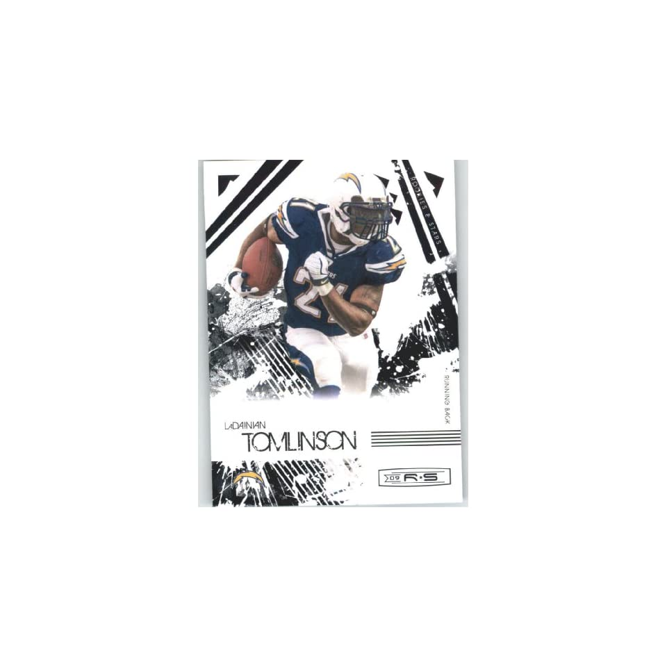 LaDainian Tomlinson   San Diego Chargers   2009 Donruss Rookies and