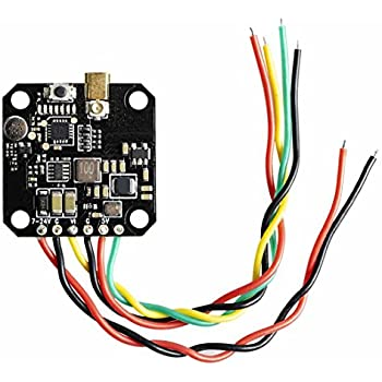 Wolfwhoop Q7 Mini VTX Integrated OSD 5.8GHz 25//200//500mW Switchable FPV Transmitter with MMCX Antenna for Wheel Base 110mm 150mm Multicopter