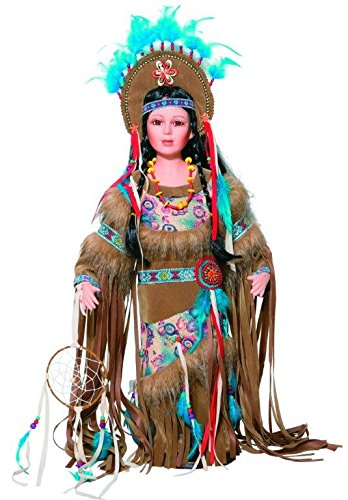 - Golden Keepsakes Collectible Heirloom Native American 24