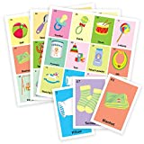 Colorful Baby shower Game in English, for 18 players and 50pc deck of cards. Have fun at Baby shower and sex reveal parties.