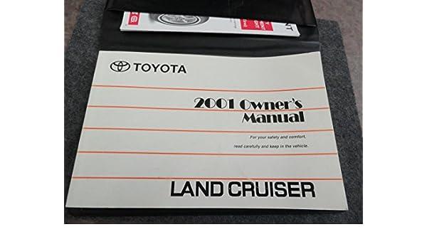 2001 toyota land cruiser owners manual toyota amazon com books rh amazon com 2015 Toyota Land Cruiser 1998 Toyota Land Cruiser
