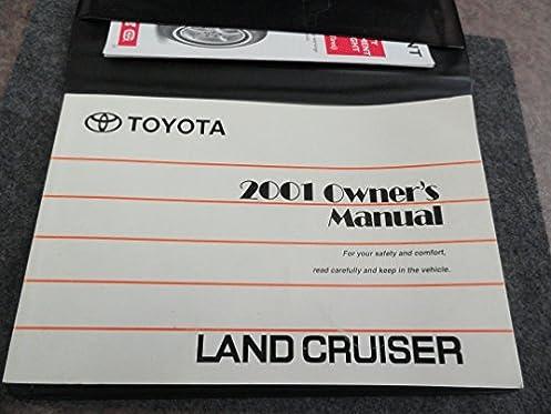 2001 toyota land cruiser owners manual toyota amazon com books rh amazon com 1998 Toyota Land Cruiser 1998 Toyota Land Cruiser