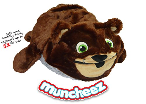 Muncheez Stuffed Animal Toy Storage for Children, Bear - Perfect for Kids - SUPER SOFT Fabric - 7 Plush Animal Choices - Upgrade Your Mesh Toy Nets & Toy Hammock - Extra Storage for Your Toys (Sale Sofa Furniture Next)