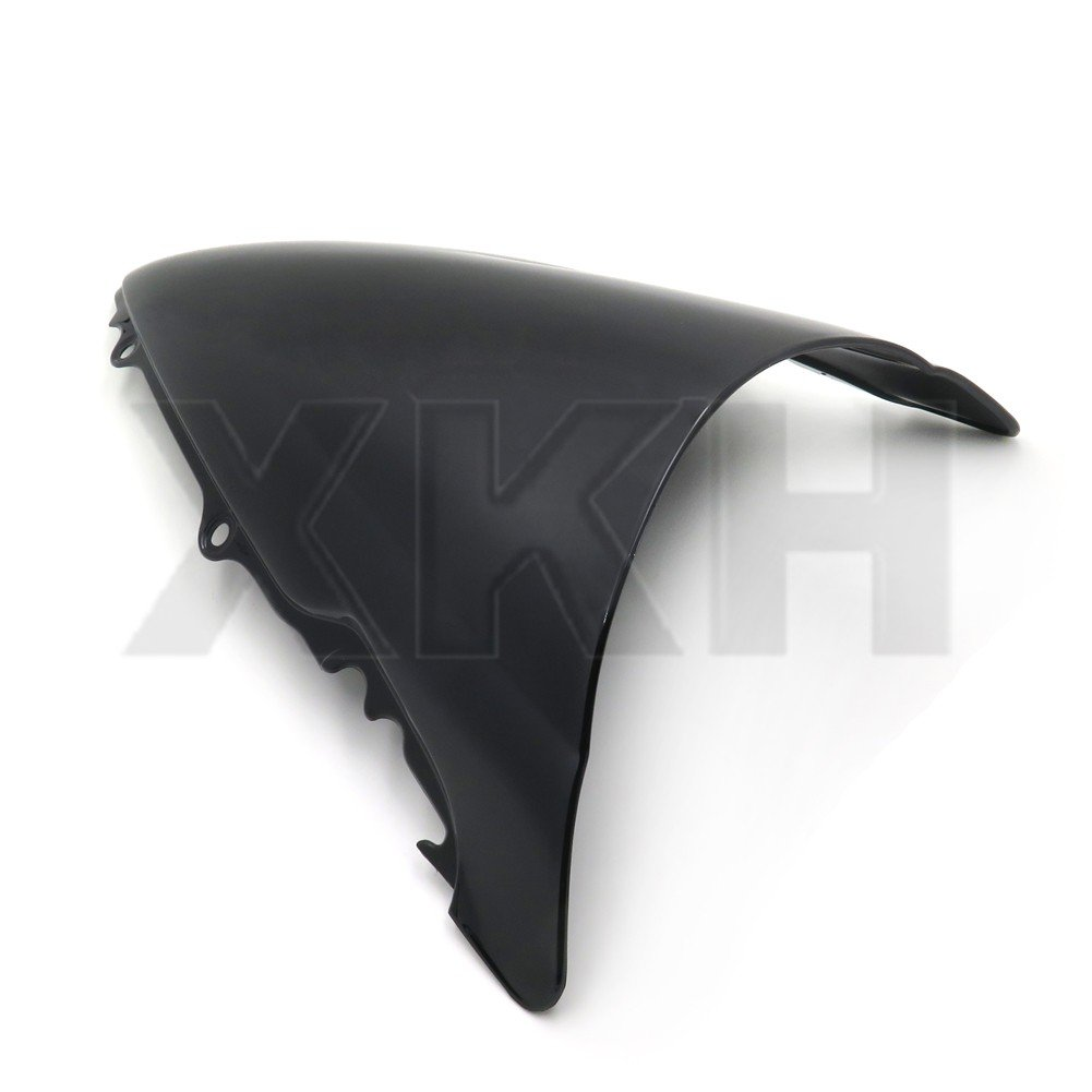XKH Group Black Smoke Windscreen Windshield for Yamaha 2003-2009 YZF R6 R6S 04 05 06 07 08