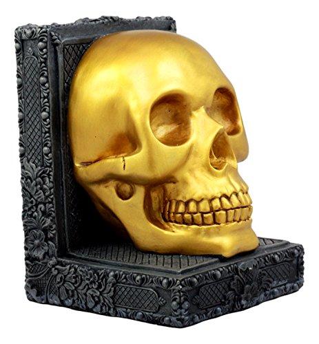 Ebros Pirate's Treasure Golden Skull Figurine 7
