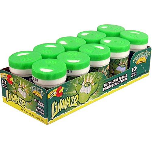 Jovy Candy Limonazo Salt and Lemon Powder Mini Shaker, 10 Piece]()