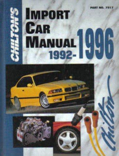 Download CH7917 Chilton Import Car repair Manual 1992-1996 pdf