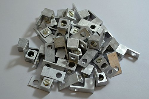10 Pieces P10 Single Aluminum Ground Lug Block Direct TV Satellite UL ()