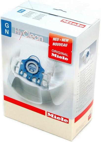 Miele S5281 S5411 GN HyClean - Lote de 4 bolsas y filtros para aspiradora de polvo: Amazon.es: Hogar