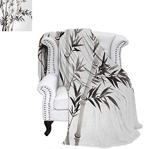 Summer Quilt Comforter Traditional Bamboo Leaves Meaning Wisdom Growth Renewal Unleash Your Power Artprint Digital Printing Blanket 60