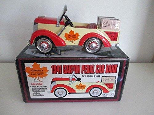 Crown Premiums Hershey Fall Meet 1941 Garton Pedal Car Bank 1/6