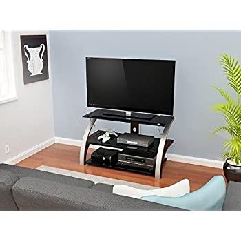 Amazon Com Z Line Designs Elecktra W Tv Stand 40 Quot Brown