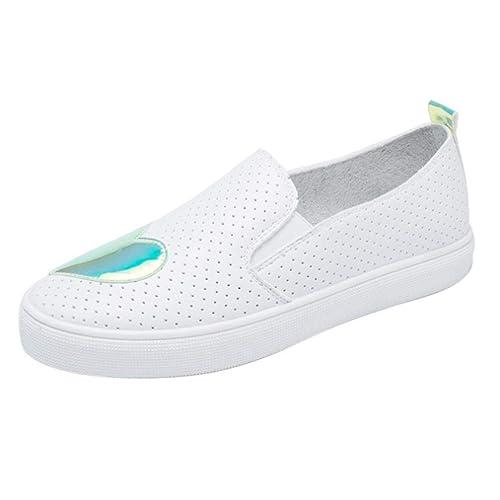 huge discount 3c8b8 3e6d3 Moda Mujeres Blancos zapatos Las Mujer Zapatos De Pequeños xz1Z87