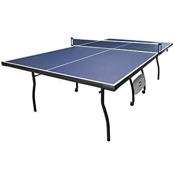 9FT Professional Folding Table Tennis Table Set,Full Size Training Ping  Pong Table Tennis With