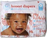 #9: The Honest Company Baby Diapers - Multi Coloered Giraffes - Size 4 - 29 ct