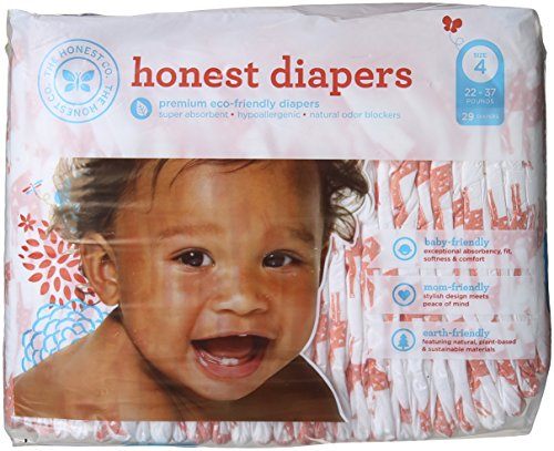 The Honest Company Honest Disposable Baby Diapers Multi Colored