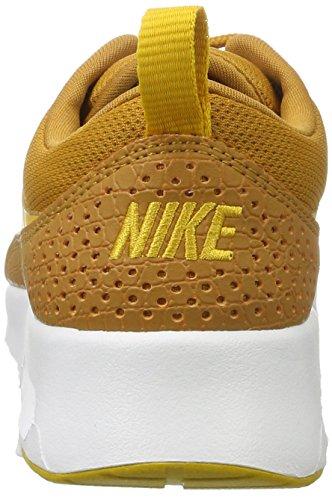 Femme white Thea Jaune Baskets Dart gold desert Max Air Ochre Nike 7FnTI7