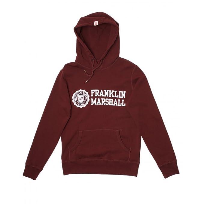 Franklin & Marshall - Sudadera - Manga Larga - para hombre rojo FLMVA 079 W15 |