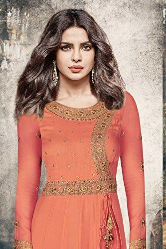 Progettista Kameez Arancione Etnica Orange Da Partywear Facioun Indian Da Donne 4 Traditonal Indiane Kameez Ethnic Women Salwar Partywear Traditonal Salwar Facioun 4 Designer qOwUZ1q