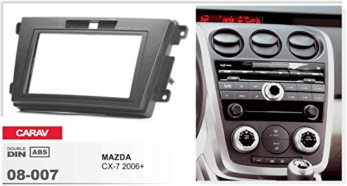 CARAV 08-007-15-6 2-DIN Marco de pl/ástico para radio para MAZDA CX-7 2006-2012