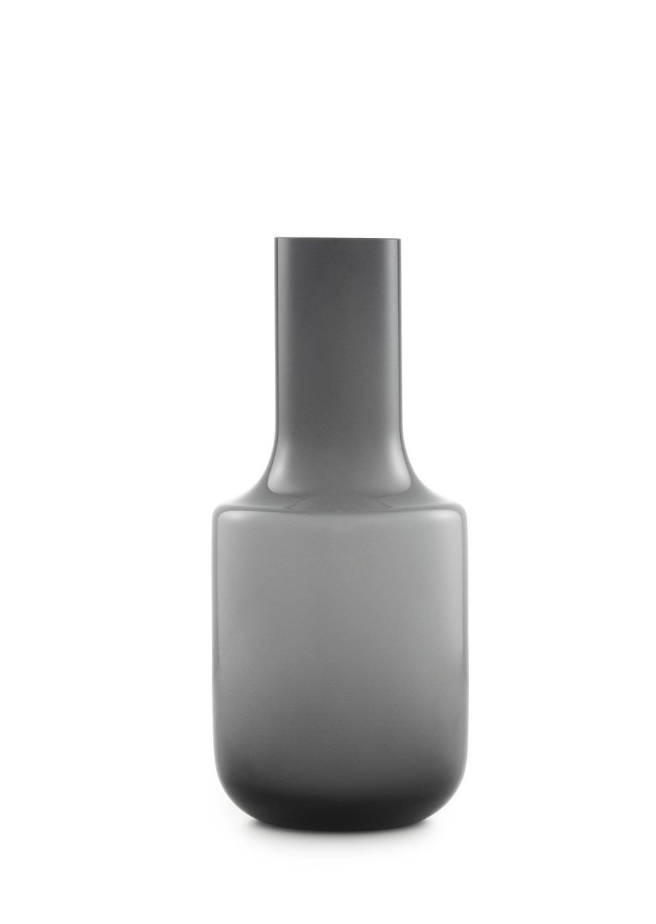 Normann Copenhagen Still Vase, Glas, grau, 12 x 12 x 27 cm
