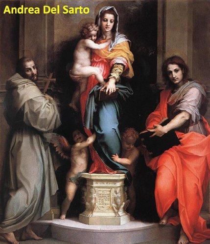 45 Color Paintings of Andrea Del Sarto - Italian Renaissance Painter, Florentine School (1486 - - Painting Renaissance Florentine