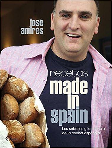 Recetas Made In Spain Jose Andresplane Jose Andres