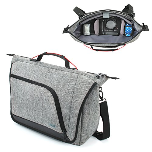 Messenger Camera Bag for DSLR / SLR by USA Gear